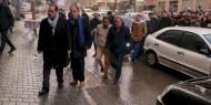 تيار الإصلاح يزور منزل الشهيد القائد أبو المجد غريب في غزة