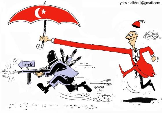 الغزو التركي على ليبيا