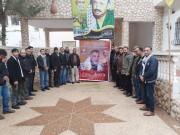 بالصور.. تيار الإصلاح يزور المحرر علاء أبو جزر في رفح