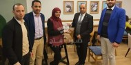 لجنة العلاقات العامة بتيار الاصلاح تكرم الصحفية سها صلاح