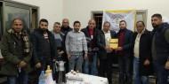 صور|| مجلس الشباب يُكرّم نادي المصدر لصعوده للدرجة الثانية