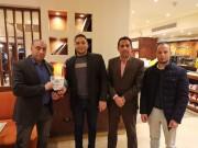 بالصور : لجنة العلاقات العامة بتيار الاصلاح تكرم الصحفي المصري عبد الرحيم الليثي