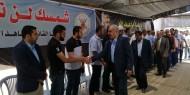 بالصور.. كتلة فتح البرلمانية تقدم واجب العزاء في المناضل الوطني رمضان شلح