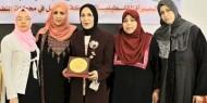حركة فتح ساحة غزة تكرم خنساء فلسطين رحاب كنعان