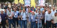 حركة فتح بمحافظة شمال غزة تحيي الذكرى الثالثة عشر لإستشهاد القائد جمال أبو الجديان