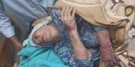 فيديو وصور:نقل والدته الى المستشفى شرطة حماس تداهم منزل المناضل الكبير جبر وشاح وتعتدي على السكان