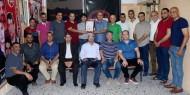"""وفد من حركة فتح يزور الأخوة في الجبهة الشعبية برفح في ذكرى رحيل المفكر """"غسان كنفاني"""""""