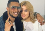 """شاهد: زوجة النجم """"محمد رمضان"""" تقبله في جو رومانسي"""