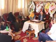 بالصور.. النائب جمعة يكرم الطالبتين شيخ العيد وسعد