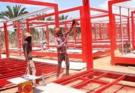 تزويد مراكز الحجر الصحي في غزة بخدمتي الاتصالات والإنترنت