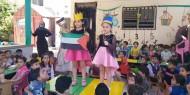 بالصور.. مجلس المرأة ينظم يوما ترفيهيا للأطفال في غزة