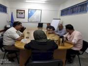 تيار الإصلاح يزور القائم بأعمال رئيس مكتب الأونروا في رفح