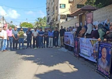 صور.. تيار الإصلاح يشارك بوقفة في غزة تضامنا مع الأسرى