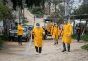 خارطة تفصيلية لتوزيع إصابات فيروس كورونا في محافظات قطاع غزة