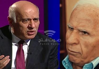 نقل عزام الأحمد إلى المشفى بعد الاعتداء عليه من قبل حرس جبريل الرجوب