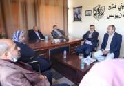 تيار الإصلاح الديمقراطي بمحافظة خانيونس يستقبل وفدًا من الدفاع المدني