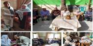 شاهد.. بمشاركة القيادي أبو شباك: تيار الإصلاح يزور عوائل الشهداء في غزة