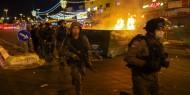 تجدد الاشتباكات في الشيخ جراح وقوات الاحتلال تعتقل عددا من الأهالي