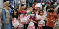 مركز فتا ينفذ مشروع كسوة العيد بتمويل الهلال الإماراتي
