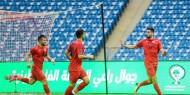 """شاهد.. """"الفدائي"""" يكتسح جزر القمر ويتأهل إلى نهائيات كأس العرب"""