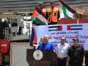 """محسن: """"تيار الإصلاح"""" يعمل على تحديث أسطول الدفاع المدني من السيارات والمعدات في غزة"""