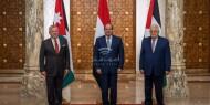 البيان الختامي للقمة الثلاثية يؤكد العمل مع الأشقاء والشركاء لإحياء عملية السلام
