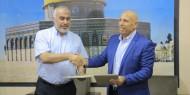 """شاهد.. تيار الإصلاح يوقع اتفاقية مشروع """"بسمة أمل"""" بالشراكة مع وزارة التنمية بغزة"""