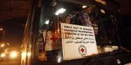 """(18) من أهالي أسرى غزة يتوجهون لزيارة أبناءهم في سجن """"إيشل"""""""