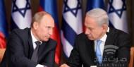 بوتين ونتنياهو يبحثان الوضع بسوريا والعلاقات الثنائية