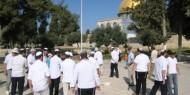 """عشرات المستوطنين يقـتحمـون """"الأقصى"""" بحماية شرطة الاحتلال"""