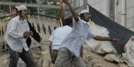 مستوطنون يهاجمون مركبات المواطنين بنابلس