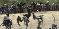 إعلام عبري: فلسطينيون رشقوا قوات الجيش قرب السياج الفاصل شمال القطاع بالحجارة