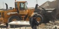 طوباس: قوات الاحتلال تهدم غرفة زراعية في قرية عاطوف