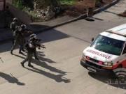 جيش الاحتلال يصيب مسعفاً خلال اقتحامه رام الله