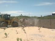 نابلس: مستوطنون يغرقون اراضي المواطنين في دير الحطب بالمياه العادمة