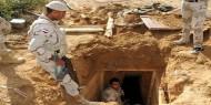 الجيش المصري يعلن تدمير نفق على الحدود مع غزة
