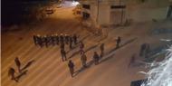 """فيديو.. اشتباكات بين مسلحين و""""أمن عباس"""" في المنطقة الجنوبية بالخليل"""