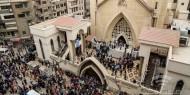 """حريق في كنيسة """"الأنبا بولا"""" بالقاهرة"""