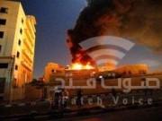 أشغال غزة تكشف حجم الأضرار بفعل انفجار بيت حانون