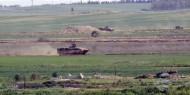 """قوات الاحتلال تستهدف الأراضي الزراعية و""""مكب النفايات"""" شرق قطاع غزة"""