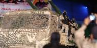 """بالصور: """"سرايا القدس"""" تعرض صاروخا جديدا.. والنخالة يؤكد: مستمرون على نهج الجهاد والمقاومة"""